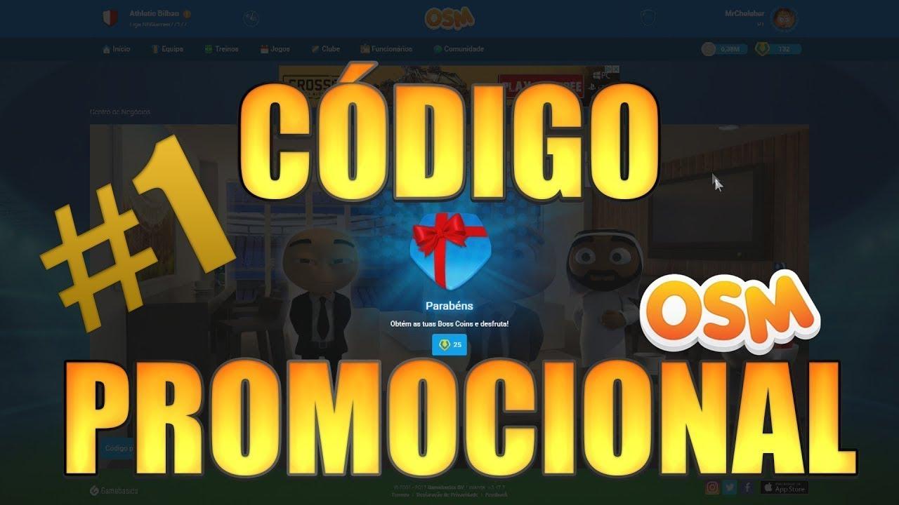 Código Promocional Osm 2018 1 100 Funcional Youtube