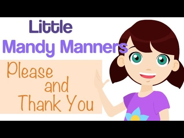 Please and Thank You | Little Mandy Manners | TinyGrads | Children's Videos | Character Songs