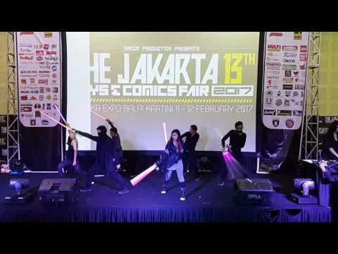 URBAN JEDI - jakarta toys and comics fair performance 11/02/2017