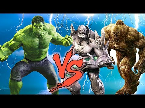 THE HULK vs ABOMINATION & DOOMSDAY - EPIC...