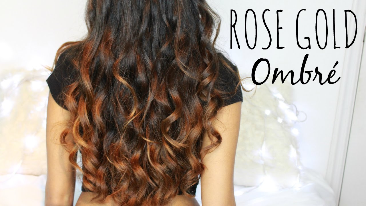 Fresh Ombre Style For Dark Hair