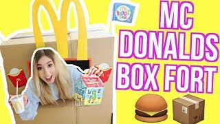 entire mcdonalds menu in 10 minutes challenge with little sister