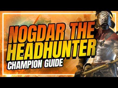 NOGDAR THE HEADHUNTER! He's bugged?! | RAID Shadow Legends