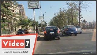 بالفيديو.. تعرف على خريطة الحالة المرورية فى أول أيام الدراسة بالقاهرة الكبرى