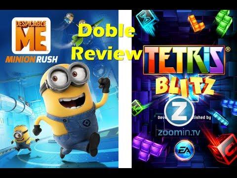 Doble Review: Despicable Me Minion Rush y Tetris Blitz - iOS