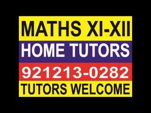 MATHS XI XII IB ICSE CBSE  HOME TUTORS ESTD 1986=== 874402 0282