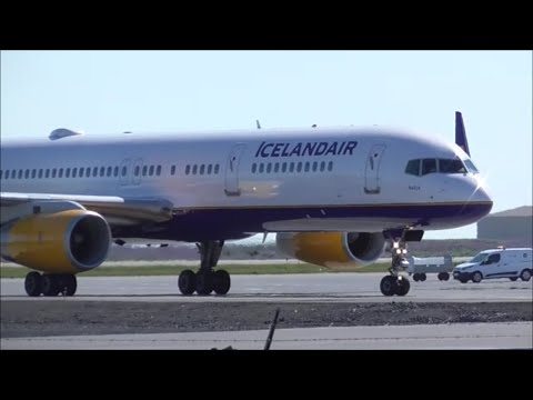 Planespotting at Keflavik Airport - Iceland | 14/06/16
