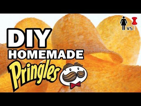 DIY Homemade Pringles - Corinne vs Pin