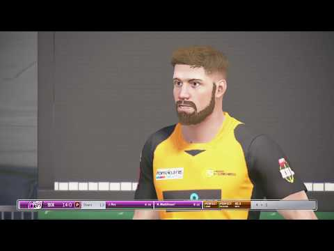 BBL T10 in Ashes cricket PS4 - Game 11 - Perth Scorchers v Sydney Sixers