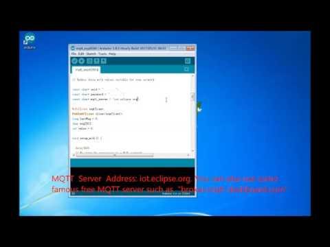 NodeMCU - MQTT Basic Example: 4 Steps