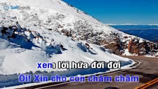 [Karaoke TVCHH] 133- CON YÊU NGÀI  - Salibook