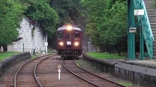 わたらせ渓谷鉄道・神戸駅にて… わ89-313