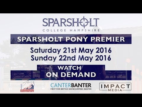 Sparsholt Pony Premier Day 2   Pony Show Jumper of the Year