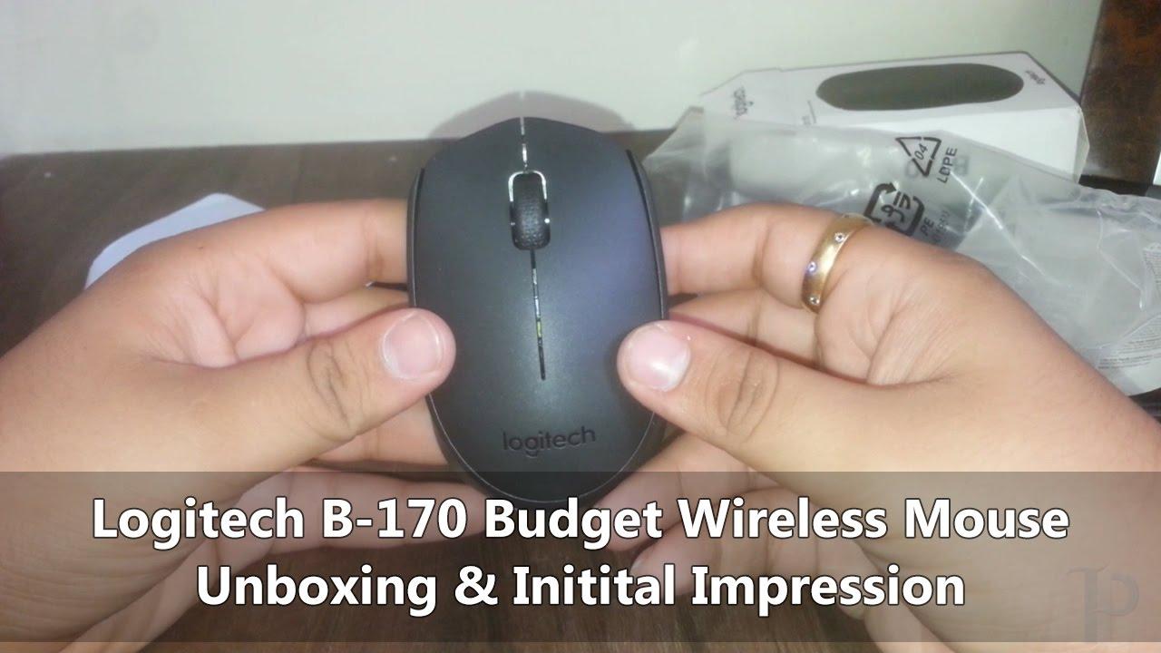 a93a67e7c87 Logitech B-170 Budget Wireless Mouse - YouTube