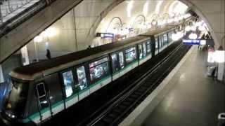 Париж: прогулка по метрополитену(Метрополитен Парижа ровесник Эйфелевой башни. Был построен к всемирной выставке. Строительство проводилос..., 2014-04-10T19:41:30.000Z)