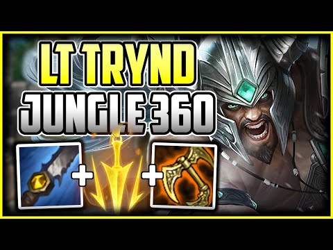 360CS Trydamere Jungle | Best Build & Runes – How to Play Tryndamere League of Legends