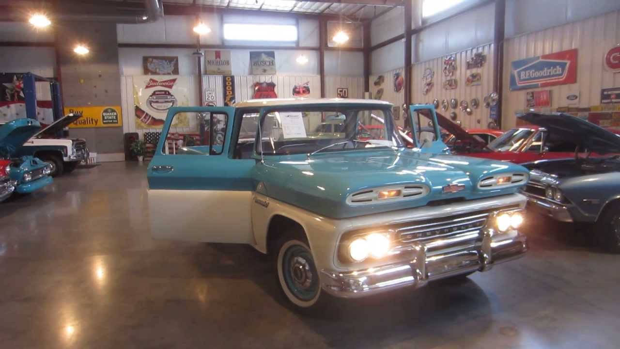 Sold 1961 Chevy Apache Passing Lane Motors Classic