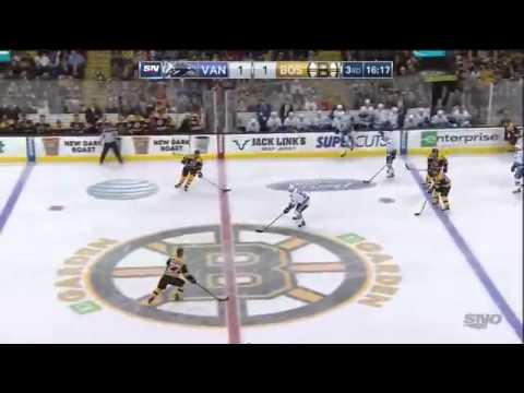 Vancouver Canucks Vs Boston Bruins. February 24th 2015. (HD)
