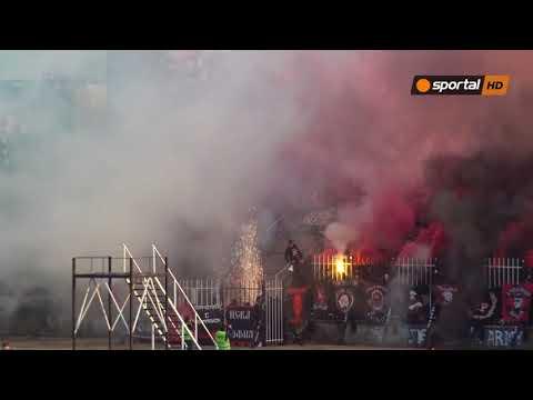 """Дим и огън в сектора на """"червените"""" срещу Локо Пд"""