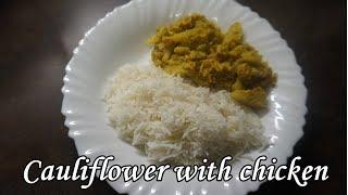 Recipe: Cauliflower with chicken (in curry) #Priyaswereld