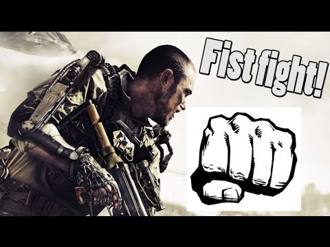 Two People Get In Fist Fight Over Cod Advanced Warfare?