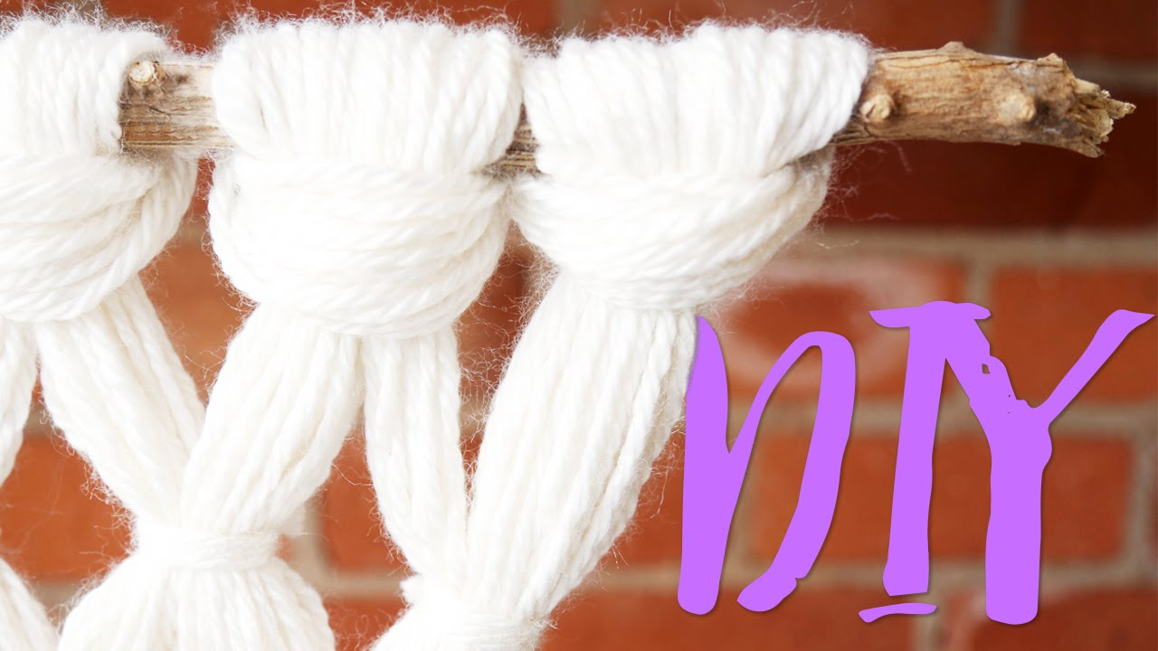Diy Yarn Macrame Youtube