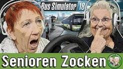 Bus Simulator 18   WER ZERSTÖRT AM WENIGSTEN? - Senioren Zocken!!!
