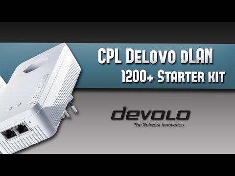 Test des CPL Devolo dLAN 1200+ WiFi ac Starter Kit