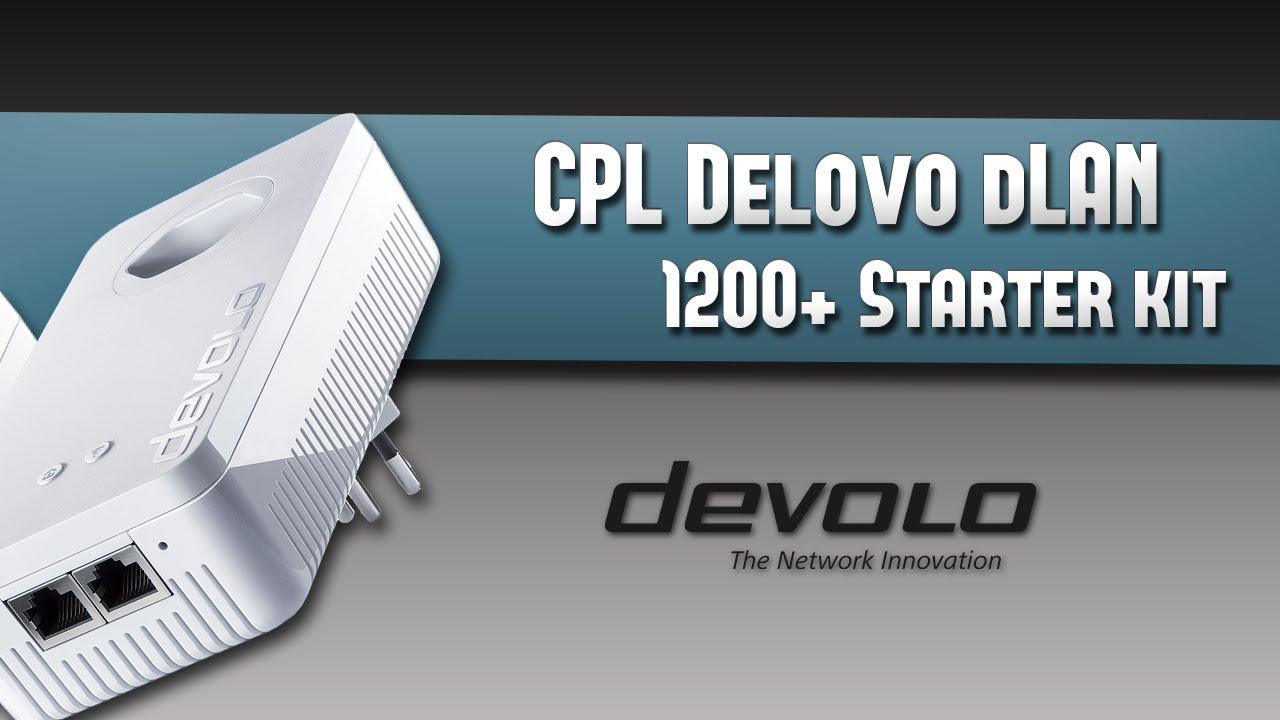 test des cpl devolo dlan 1200 wifi ac starter kit youtube. Black Bedroom Furniture Sets. Home Design Ideas
