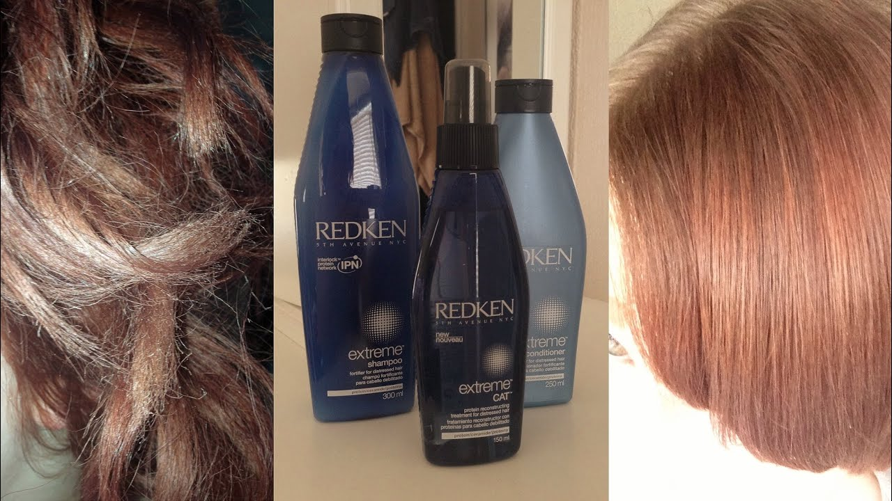 redken extreme strength builder plus recension