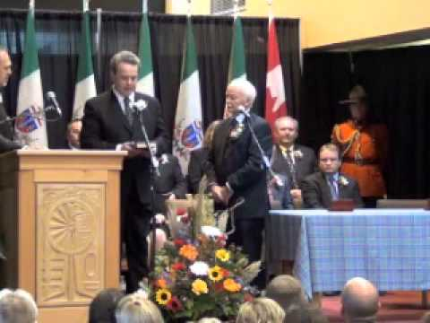 Swearing-in Ceremony of the Yukon Government Cabinet