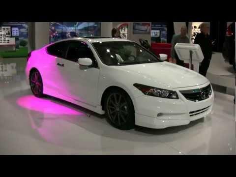 2012 Honda Accord Coupe V6 Exterior and Interior at 2012 Montreal Auto Show