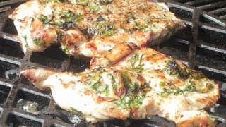 Easy Grilled Chicken Recipe (quick)- Benjimantv