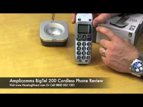 Amplicomms BigTel 200 Cordless Phone Review