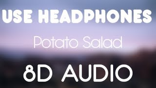 A$AP ROCKY - POTATO SALAD ft Tyler The Creator (8D AUDIO)