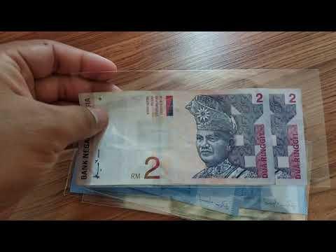 Malaysian banknotes collection
