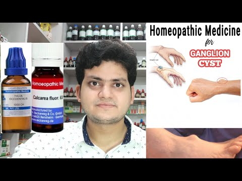 Ganglion cyst ! Homeopathic medicine for Ganglion ? Explain