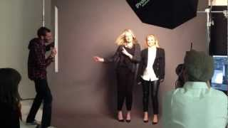 Behind the Scenes at our Associate Photo-Shoot Thumbnail