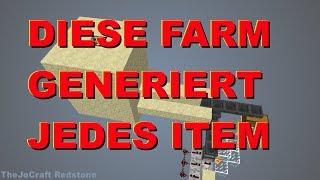 DIE BESTE FARM generiert ALLES ohne aktive Commandblöcke