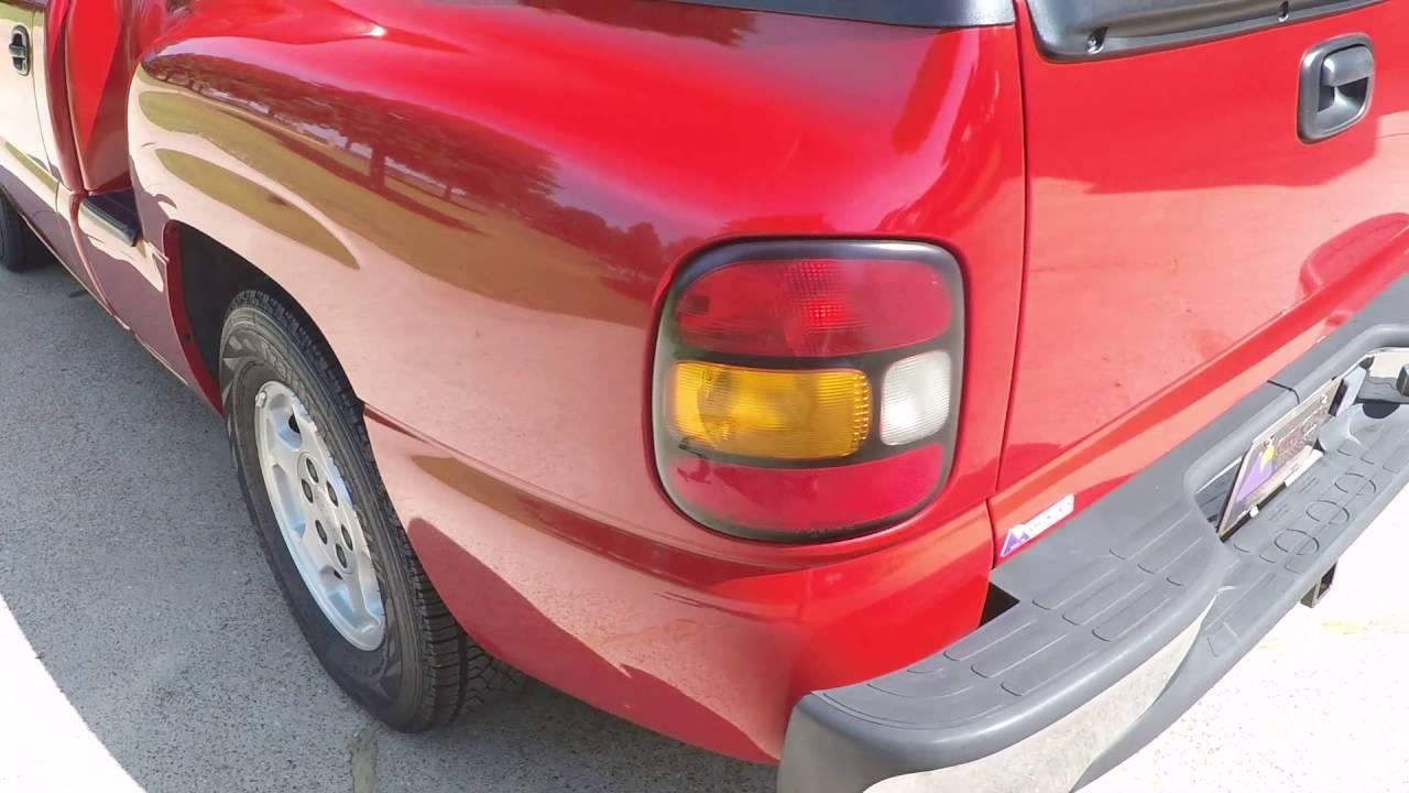 2004 Chevy Silverado For Sale >> HD VIDEO 2000 CHEVROLET SILVERADO SPORTSIDE REGULAR CAB RED FOR SALE INFO WWW SUNSETMOTORS COM ...