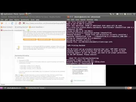 Setup OpenSSH and NX Server v3 on Ubuntu 10.10