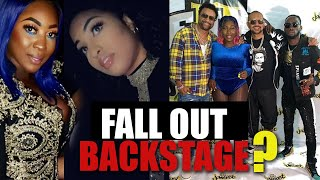 Spice & Shenseea FALL 0UT Backstage At JamFest 2019? Four S Of Dancehall