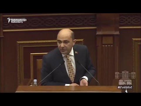 Драка в парламенте Армении