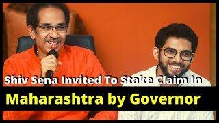 Shiv Sena Invited To Stake Claim In Maharashtra by Governor  | NewsX