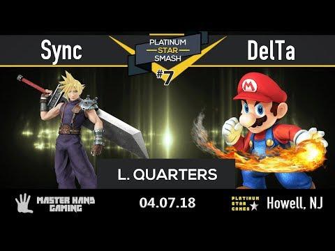 Platinum Star Smash 7 - Sync (Cloud) vs Delta (Mario) - Loser's Quarters