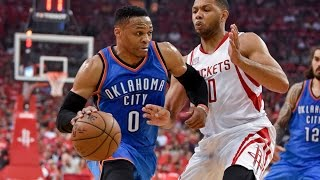 Russell Westbrook Triple-Double Highlights vs Rockets! | April 19, 2017 | NBA Playoffs 2017