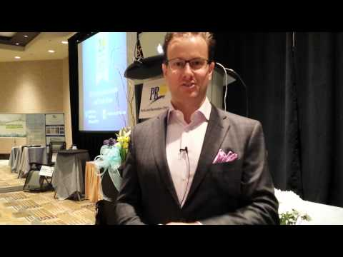 Dr. Greg Wells at the PRO Forum 2015