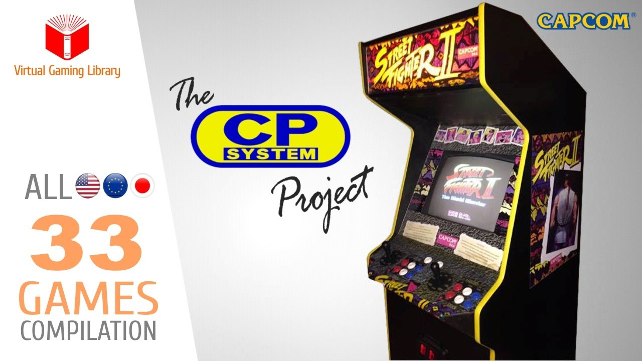 The CAPCOM Play System Project - All 33 CPS1 Games - Every ...