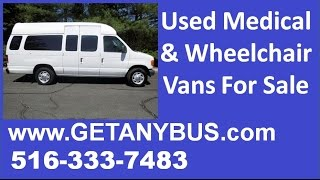 Used vans with wheelchair lifts for sale by NY Dealership | 2006 Ford E-250 Wheelchair Handicap Van