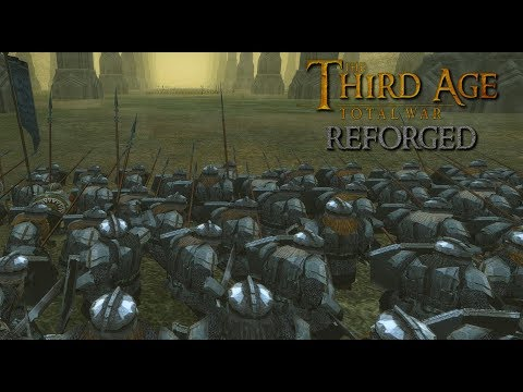 Third Age: Total War (Reforged) - MARCH OF THE IRON LEGION (Battle Replay)